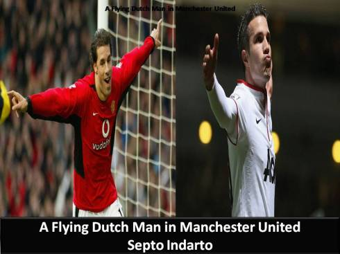 A Flying Dutch Man in Machester United