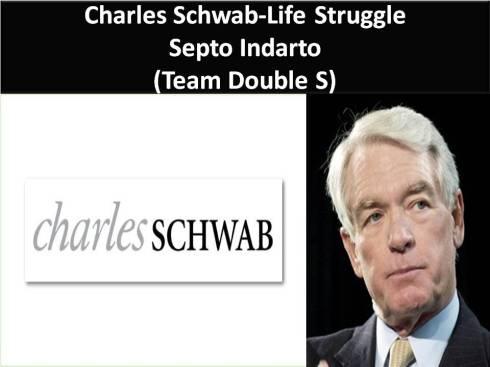 Charles Schwab-Life Struggle